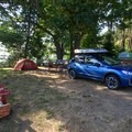 Typical campsite.- San Juan County Day Park + Campground