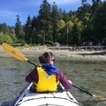 Returning to Smallpox Bay.- San Juan County Day Park + Campground