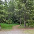 The Highpoint Trailhead.- Highpoint Trail