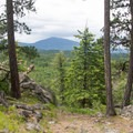 Views at the top of the Highpoint Trail.- Highpoint Trail