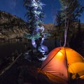 Unmatched star viewing opportunities with no visible light pollution.- Mirror Lake via the East Lostine River Trail