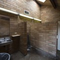 Restroom facilities. at Beachside State Recreation Site Campground.- Beachside State Recreation Site Campground