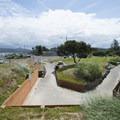 Robinson Park in Waldport, Oregon.- Alsea Bay Marina + Robinson Park
