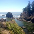 Viewpoint from the north end of Secret Beach.- Samuel H. Boardman State Scenic Corridor