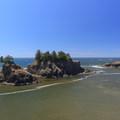Sea Stacks off Secret Beach.- Samuel H. Boardman State Scenic Corridor