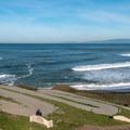 Switchbacks down to Rockaway Beach.- Rockaway Beach