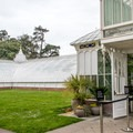 Entrance to the Conservatory of Flowers.- Conservatory of Flowers