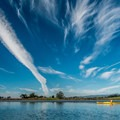 Big sky above the slough.- Elkhorn Slough