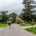 Campground road.- New Brighton Campground