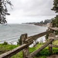 View of Capitola from the campground edge.- New Brighton Campground