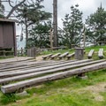 Campground amphitheater.- New Brighton Campground