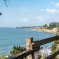 Scenic bluff view.- New Brighton Campground