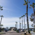 Campground entrance.- San Elijo State Beach Campground