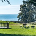 Distant views of the ocean from the campground.- Costanoa KOA