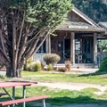 There is a small general store on-site.- Costanoa KOA