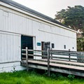 The Marine Education Center in the old dairy barn.- Año Nuevo State Park