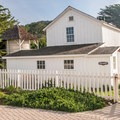 The historic Steele settlement buildings.- Año Nuevo State Park