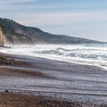 A view down the coast from the park.- Año Nuevo State Park