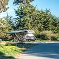 Sites have nice privacy and separation.- Sunset State Beach Campground
