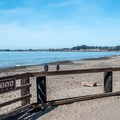 Beach access is what this campground is all about.- Seacliff State Beach Campground
