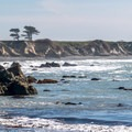 The Año Nuevo coast.- Whitehouse Creek Beach