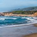 Pescadero has many wide, flat beaches.- Pescadero State Beach
