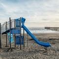 Playground at Cayucos Beach.- Cayucos State Beach