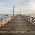 Cayucos pier.- Cayucos State Beach