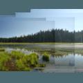 Headwaters of the Clackamas River, Clackamas Lake.- Clackamas Lake