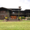 View of the Gamble House from Westmoreland Place.- Gamble House National Historic Landmark