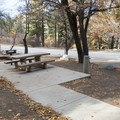 ADA campsite at Peavine Campground.- Peavine Campground