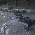Day use picnic area at South Fork Campground.- South Fork Campground, Big Rock Creek