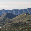 View south of the San Gabriels just outside of the Crystal Lake Recreation Area.- Windy Gap Trail Hike