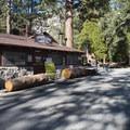 General store and cafe at Crystal Lake Recreation Area Campground.- Crystal Lake Recreation Area Campground