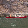 Bringing some friends along for the ride into Black Canyon.- Black Canyon Water Trail: Hoover Dam to Willow Beach