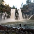 During winter months flow can increase dramatically.- McArthur-Burney Falls Memorial State Park