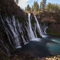 Long exposure of McArthur-Burney Falls.- McArthur-Burney Falls Memorial State Park
