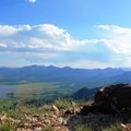 Enjoy a rest once you've made it up!- Hahn's Peak Lookout