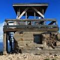 Hahn's Peak Fire Tower.- Hahn's Peak Lookout