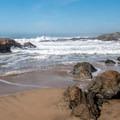 Looking north.- Arroyo de los Frijoles Beach