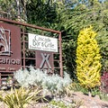 Gateway to Costanoa Lodge.- Costanoa Lodge