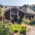 The restaurant at the lodge.- Costanoa Lodge