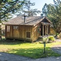 A deluxe cabin.- Costanoa Lodge