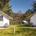A few of the many tent cabins available.- Costanoa Lodge