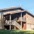 One of two main lodge buildings.- Costanoa Lodge