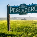 The historic town of Pescadero is a few miles up the road.- Pescadero Marsh Natural Preserve