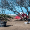 Camping right by the beach.- Morro Strand Campground