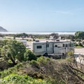 The RV hookup section is the last row from the beach.- Morro Strand Campground