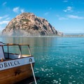 Morro Bay harbor is a great put-in spot for kayaks or boards.- Morro Bay Harbor
