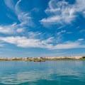 Glorious sky and water on Morro Bay.- Morro Bay Harbor